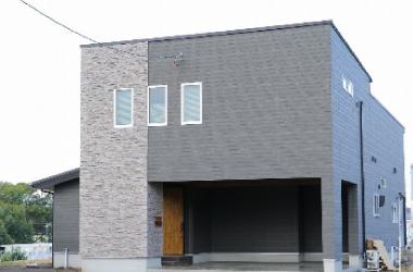 新築OH邸、完成外観