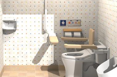車椅子が利用できるトイレへのリフォームプラン